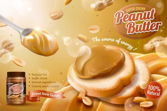 Peanut butter spread ads