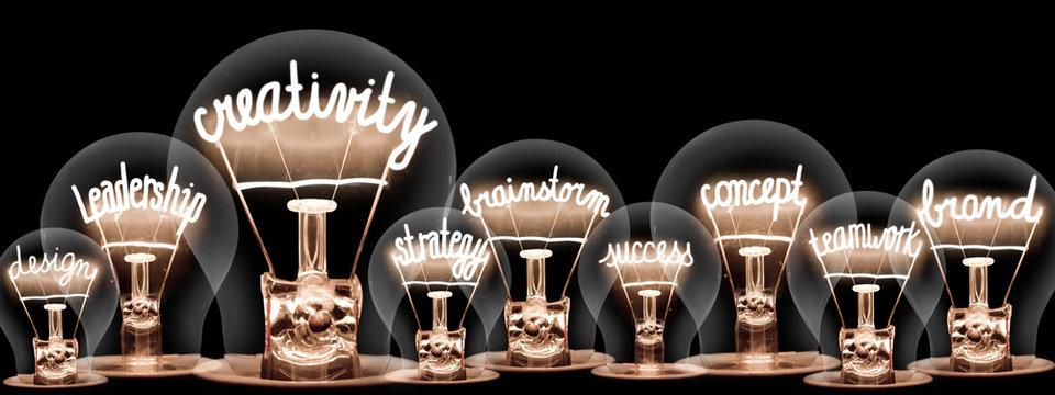 Light Bulbs Concept