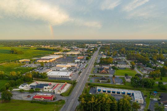 Aerial photo Lumberton NC USA