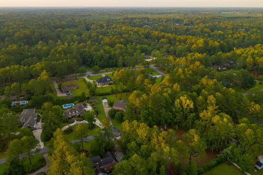 Residential homes Lumberton North Carolina USA