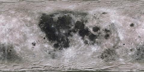Spoed Fotobehang Bleke violet Moon surface