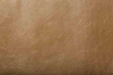 Leather texture beige as an abstract background, beautiful pattern texture Full screen