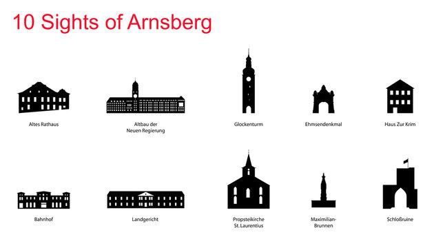 10 Sights of Arnsberg
