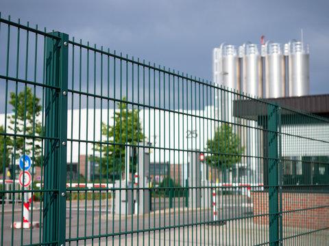 Industrieanlage - Sicherheit - Werkschutz