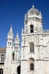 The Jeronimos Monastery or Hieronymites Monastery, Lisbon, Portugal
