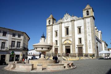 Saint Anton's Church (Portuguese:Igreja de Santo Antao) in Evora, Portugal