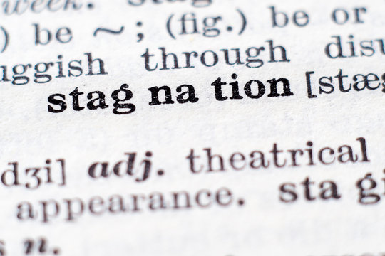Definition of word Stagnation