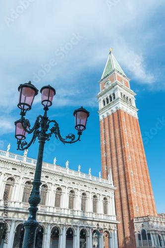 Fototapete Campanile and St Mark's Square, Venice, Italy