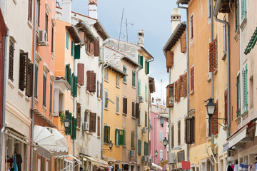 Rovinj, Istria, Croatia - Walking through the old town of Rovinj