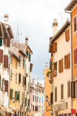 Rovinj, Istria, Croatia - Beautiful houses in the old streets of Rovinj