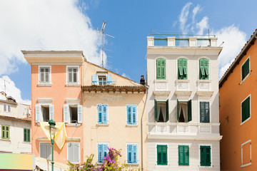 Rovinj, Istria, Croatia - Beautiful historic architecture in the streets of Rovinj