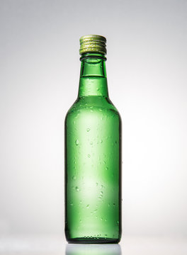 Soju is a drink that Koreans enjoy drinking.