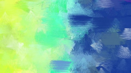 old painting brushed with teal blue, khaki and pale green colors. dirty color-brushed. use it as wallpaper or graphic element for poster, canvas or creative illustration
