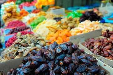 Food in Camel Market;Tel Aviv