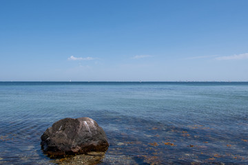 rocks and sea - Schleswig Holstein Germany