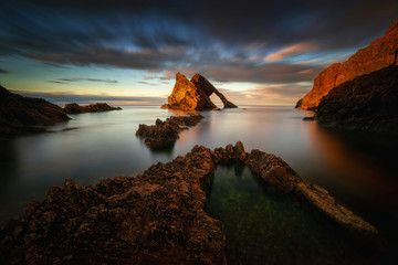 Fiddle Rock formations