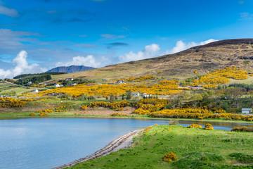 Ullapool in Schottland am Loch Broom