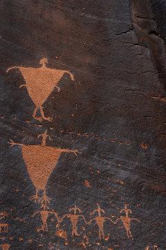 Petroglyphs, Mill Creek Canyon
