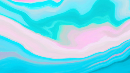 Bright Pink Blue Paint Canvas Background