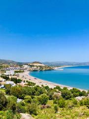 Foto op Plexiglas Caraïben Beautiful landscape of Rhodes Island