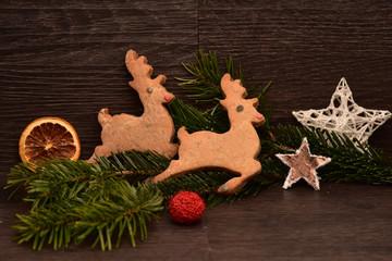 Weihnachtsplätzchen Rentiere