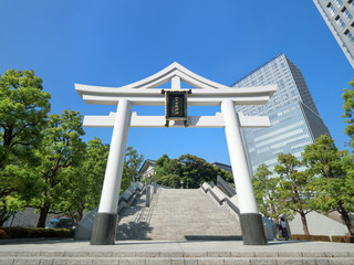 Fototapete - 東京都 日枝神社
