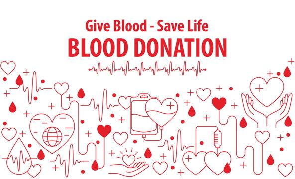 Donation Blood banner
