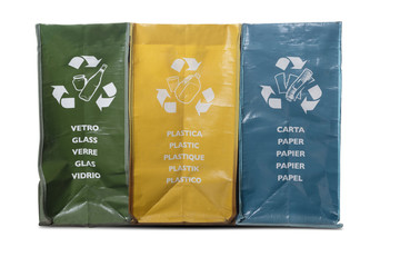 Garbage bags for home recycling