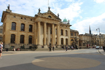 Oxford, ville anglaise.