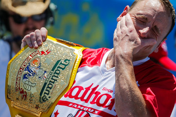 Nathan's Famous Fourth of July International Hot Dog-Eating Contest in New York