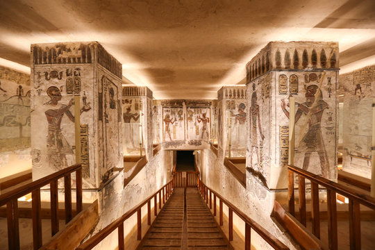 Tomb in Valley of the Kings, Luxor, Egypt
