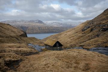 landscape in Faroe Islands
