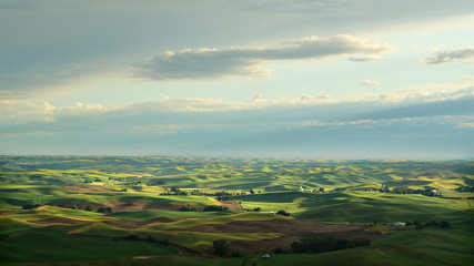 The Palouse Wheat Growing Region of the Northwest
