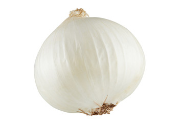 white onions isolated Wall mural
