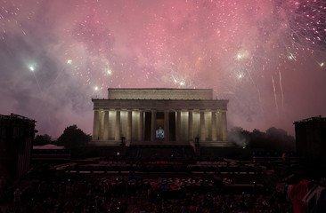 Fourth of July Independence Day celebrations in Washington