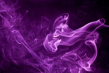 Toxic purple smoke.
