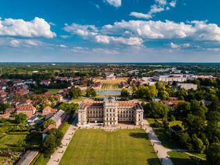 Schloss Ludwgislust im Sommer