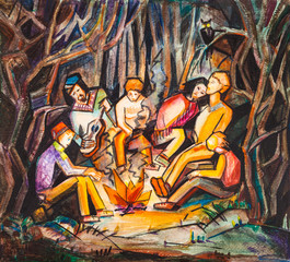 party in the forest