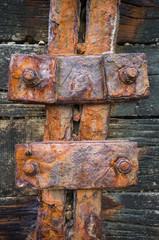 Rusty Iron Bolts