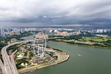 Singapur Riesenrad