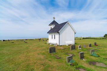 small white chapel