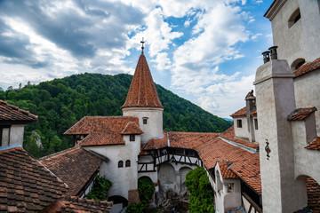 Bran Castle In Romania