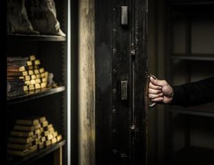Ardmed man robbing a bank