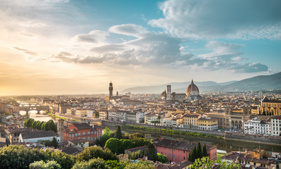 Florence - Italy, panorama of Firenze