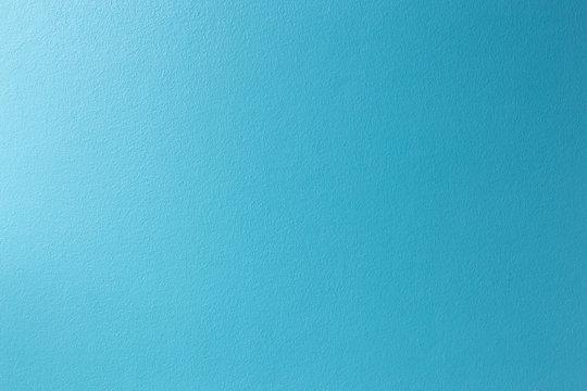 Bright blue brick wall background