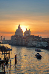 Aluminium Prints Venice View of the Grand Canal