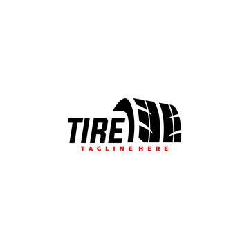 Tire Logo Design Vector Template