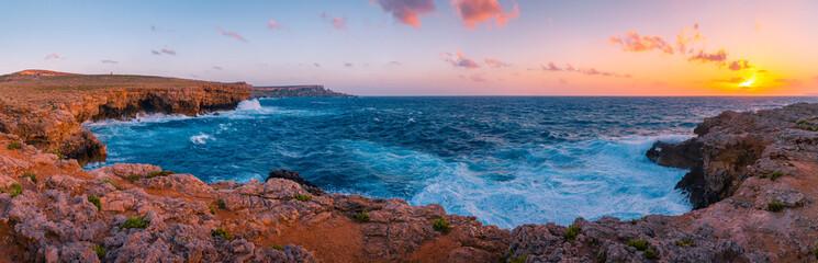 Fototapete - Maltese coast