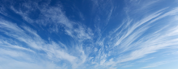 panorama of sky Fototapete