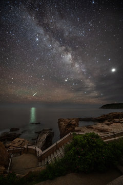 Milky Way over Acadia National Park